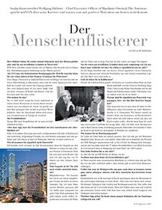 Wolfgang Hueltner - der menschenflüsterer