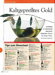 Produkttest Olivenoel