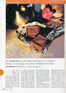 Trend Produkttest Schokolade