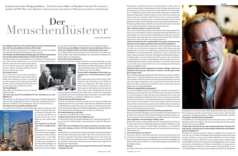 VON Interview Hülter